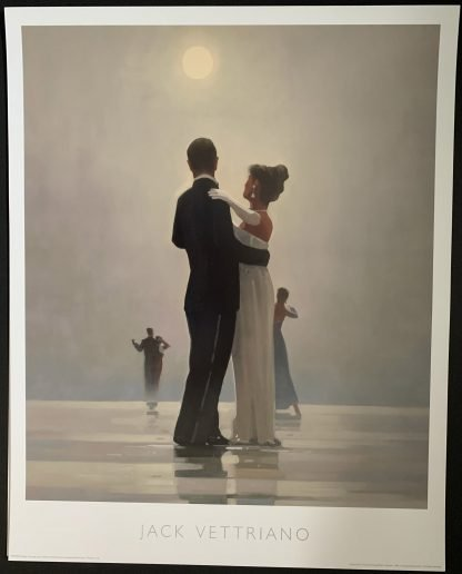Dance Me to the End of Love by Jack Vettriano - rare Large Art