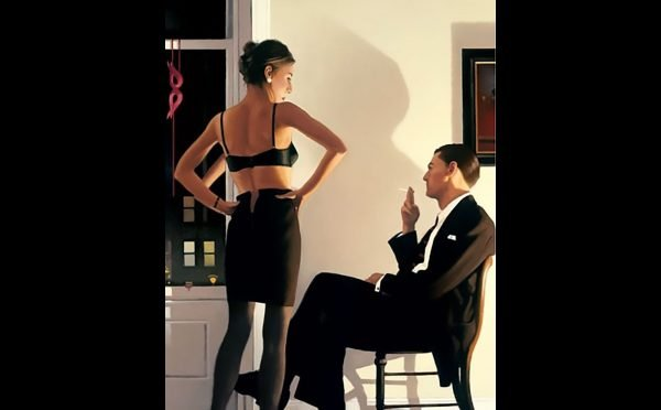 Jack Vettriano - Night In The City - Limited Edition Print